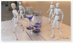 Physically accurate glass and depth of field 3D CAD rendering photorealism